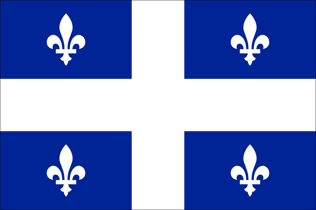 Quebec Flag-4